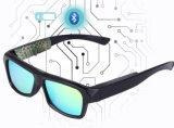 Écouteur stéréo sans fil intelligent polarisé de Bluetooth 4.1 d'appel de chansons de lunettes de soleil