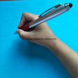 Crayon lecteur de bille d'aiguille en métal avec le point de 0.7mm