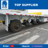 Véhicule de titan - du lit plat 4axle remorque semi avec la semi-remorque de transport de conteneur de suspension d'air