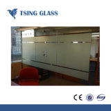 4-15mm de ácido de cor clara vidro gravado com marcação CE/SGS/Certificado ISO
