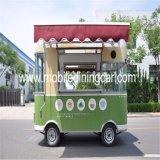 제조자에 의하여 추천되는 이동할 수 있는 음식 손수레/음식 트럭 또는 밴