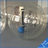 Sfere ambulanti dell'acqua blu con Tizip e TPU1.0 materiale D=2m per 1 persona
