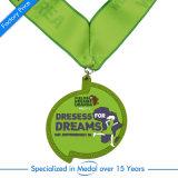 Or Antique Prix Médaille de demi-marathon pour la vente Emoji trousseau