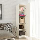 Schlafzimmer-Garderobe mit hoher Glanz-Plastikgarderoben-Türen