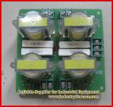 Tablero del transformador del pulso para el horno de Inductin