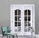 高品質のカシからなされるガラスドアの戸枠
