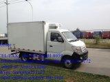 Tonnellata mini Van Truck refrigerato di raffreddamento di Sinotruk Cdw 4X2 2