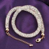 Halsband van de Juwelen van het Kristal van het Netwerk van de Stijl van Doubai de Gouden met Ketting Extention
