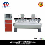 8 Máquina de mesa de madeira CNC Fuso VCT-2325W-2Z-8h