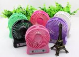 Ventilateur de mini-USB Mini ventilateur USB portable 18650 Mini ventilateur fonctionnant sur batterie au lithium