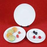 7-14inch円形のホテルテーブルウェア磁器のディナー用大皿