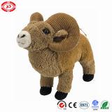 La chèvre de la qualité en peluche brun ce mignon petit cadeau personnalisé enfants jouet
