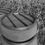 Acoplamiento de alambre de la aplicación del filtro del acero inoxidable de la alta calidad/separador de partículas hechos punto
