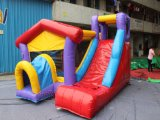Mini Inflatable Bounce Combo commerciale QB050-PVC