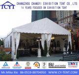 Большой напольный шатер свадебного банкета случая