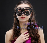 Masker van het Kant van Hallowmas het Sexy Zwarte voor Dansende Partij