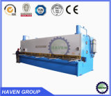 Schwingen-Träger-Scheren CNC-QC12K-6X2500 hydraulisches und Platten-Ausschnitt-Maschine