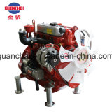 10kw12kw 14HP 16HP 세륨 승인되는 튼튼한 Quanchai QC380d 디젤 엔진
