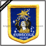 Custom Souvenir Embroidery Badge Patch para Iron-on Clothing (BYH-10161)