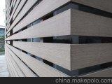 Изготовление плакирования стены Co-Extrusion Китая деревянное пластичное составное с Ce