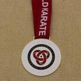 Medalla de encargo del karate del mundo del metal Hight de la calidad barata de 2015