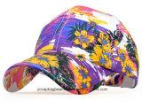 Gorra de béisbol impresa flor salvaje moderna del estilo
