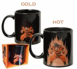 11oz Goku 시리즈 용 공 색깔 변화 찻잔 Goku 찻잔 세라믹 찻잔