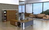 Директор Офис Экзекьютив Стол новой конструкции деревянный и стальной (HF-WD021)