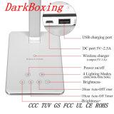 Schnell 3.0 Handy-drahtlose Aufladeeinheit der LED-Tisch-Lampe