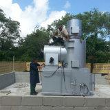 Tipo pequeño incinerador de residuos médicos utilizados en el Hospital de Tratamiento de basura