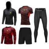Allenamento Sportsuit di usura di ginnastica della tuta sportiva di addestramento degli uomini pieni di sublimazione