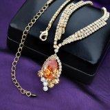 De hete Juwelen van het Kristal van de Manier van de Verkoop 18K Gouden die voor Meisjes worden geplaatst