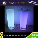 Ilumine a tabela de LED de mudança de cor com balde de gelo