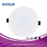 Ce RoHS Aprobado 8W 15W 22W 30W Downlight Panel LED redonda Rimless