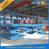 table élévatrice hydraulique stationnaire lourde des ciseaux 10t