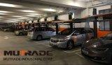 2 Pfosten-doppelter waagerecht ausgerichteter Parken-Aufzug-hydraulisches Auto-Ablagefach