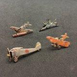 記念品の真鍮の飛行機モデルピン
