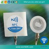 Autocollant NFC 25mm avec adhésif 3m