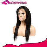 Capelli diritti frontali del brasiliano del Virgin di Remy del merletto dei capelli umani 360