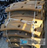 Bens móveis e fixas de giro/Placa de mandíbula britador de mandibula partes separadas