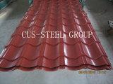 Несимметричная застекленная плитка толя стального листа толя симметрично профилированная