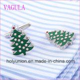 VAGULA 질 최신 판매 크리스마스 나무 Gemelos 커프스 단추  (320)