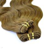 Trama 100% brasileira do cabelo humano do Virgin da onda do corpo do cabelo de Remy