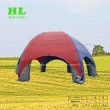熱い娯楽作業のための販売によってカスタマイズされる屋外のフットボール用ヘルメットの膨脹可能なトンネルのテント