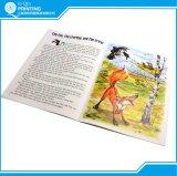 Impresión niño de encuadernado de libro de historia
