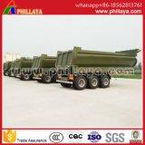 Heavy Duty remolque del camión volquete hidráulico de volquete dumper Semi-Trailer