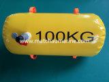 Os pesos de 100kg vida à prova de barcos testes de carga sacos de água