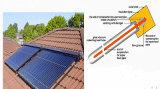 真空管のHeatpipeのAnti-Freeze太陽熱湯ヒーター