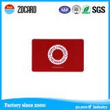 Cartão plástico personalizado da identificação, cartão da identificação do PVC, cartão, cartão desobstruído