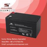 Tipo selado bateria bateria 12V 7ah do AGM dos PRECÁRIOS do sistema de energia do UPS
